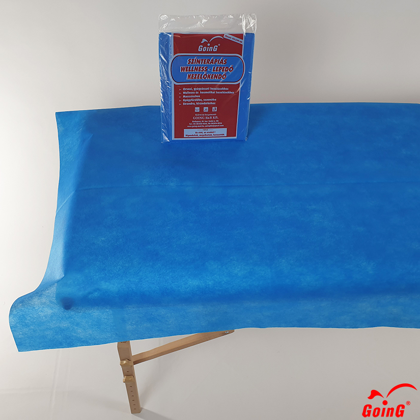 1040 Higienic sheet 80x200 middle blue