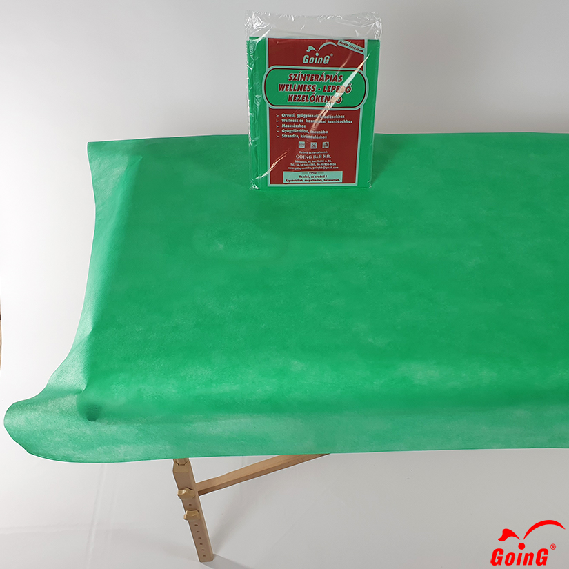 1040 Higienic sheet 80x200 middle green