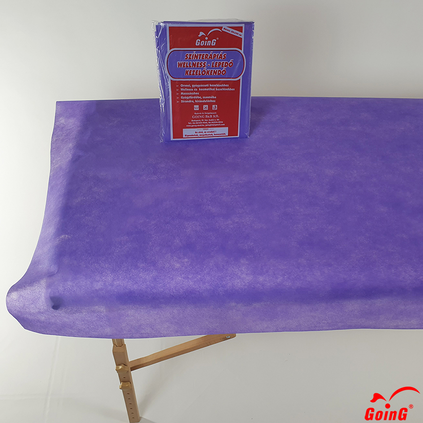 1040 Higienic sheet 80x200  purple