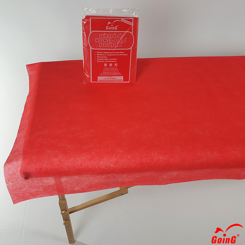 1040 Higienic sheet 80x200 red