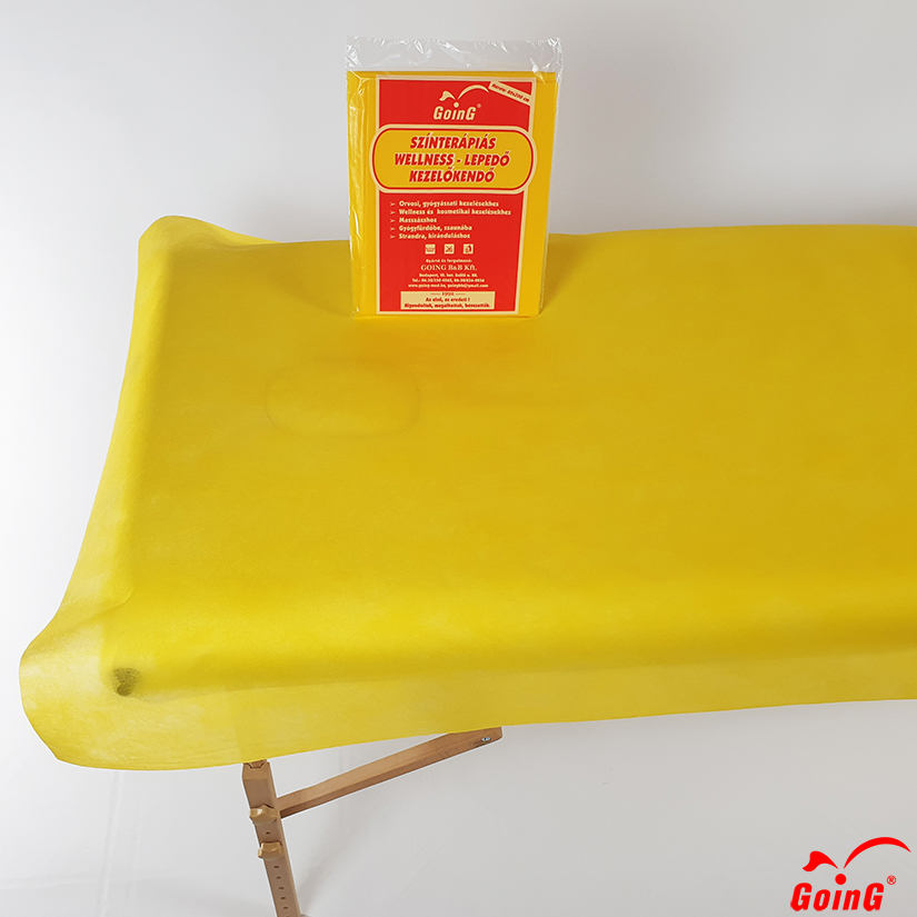 1040 Higienic sheet 80x200 sunyellow