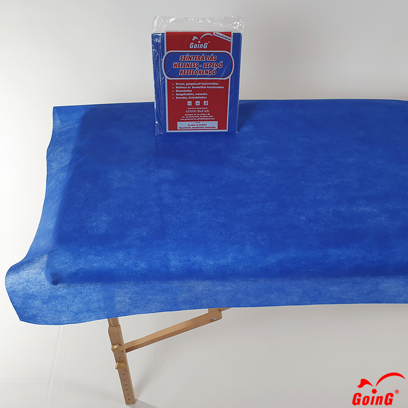 1040 Higienic sheet 80x200 deep blue