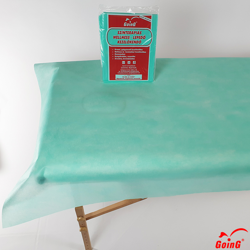 1040 Higienic sheet 80x200 bright green