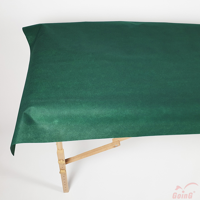 1060 Higienic sheet 80x200 deep green