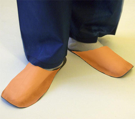 Slippers for guest orange 10 pair